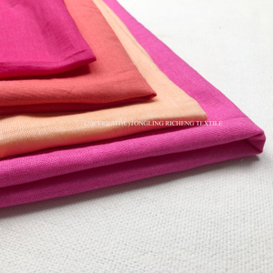 pure linen solid fabric